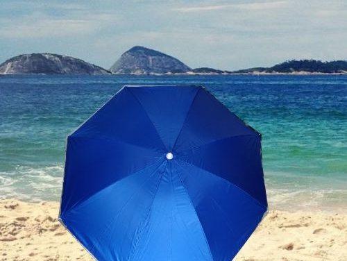 Aproveite o verão com o guarda-sol